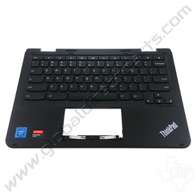 OEM Lenovo ThinkPad Yoga 11e Chromebook 4th Gen Keyboard [C-Side] - Black