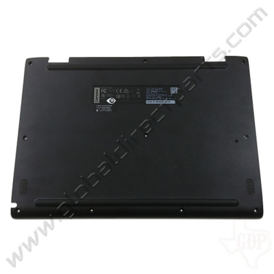 OEM Reclaimed Lenovo 500e Chromebook 81ES Bottom Housing [D-Side] - Black