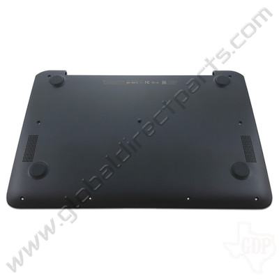 OEM Reclaimed HP Chromebook 11 G6 EE Bottom Housing [D-Side] - Gray [Black Bumper]
