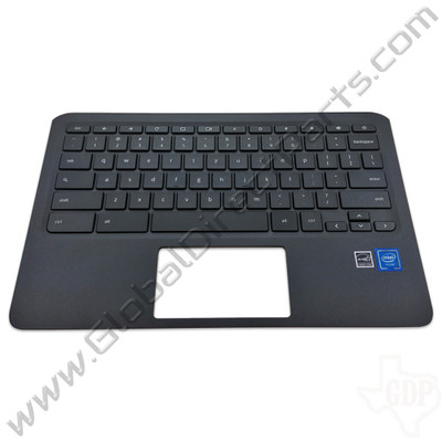 OEM Reclaimed HP Chromebook 11 G6 EE, 11A G6 EE Keyboard [C-Side] - Gray
