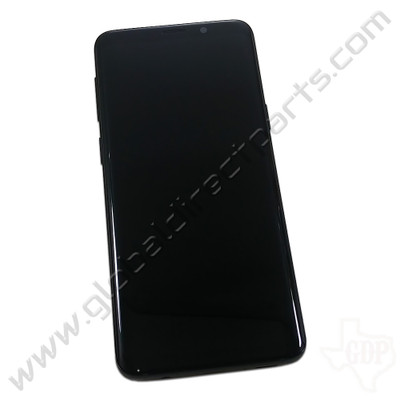 OEM Samsung Galaxy S9 AMOLED & Digitizer Assembly with Front Housing - Black [GH97-21717A]