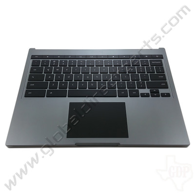 OEM Google Chromebook Pixel [2013] Keyboard with Touchpad [C-Side] - Gray