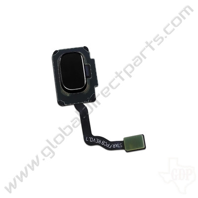 OEM Samsung Galaxy S9, S9+ Fingerprint Scanner Flex - Black [GH96-11479A]