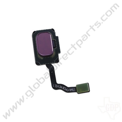 OEM Samsung Galaxy S9, S9+ Fingerprint Scanner Flex - Purple [GH96-11479B]