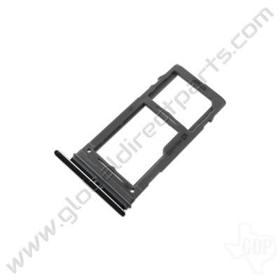 OEM Samsung Galaxy S9, S9+ SIM & SD Card Tray - Black