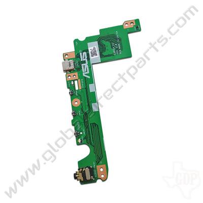 OEM Asus Chromebook Flip C302C USB, Power & Volume Key with Audio Jack PCB