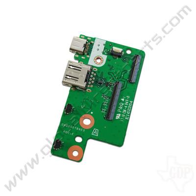 OEM HP Chromebook x360 11 G1 EE Type-C USB & Volume Key PCB