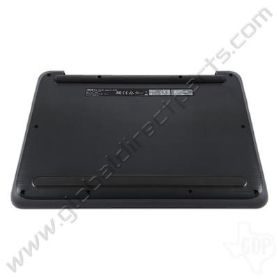 OEM Reclaimed Asus Chromebook C202S Bottom Housing [D-Side] - Dark Gray [Gray Bumper]