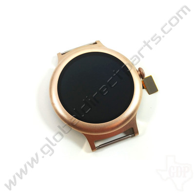 OEM LG Watch Style W270 POLED & Digitizer Assembly - Gold [ACQ89571803]