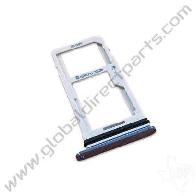OEM LG G7 ThinQ G710 SIM & SD Card Tray - Silver [ABN75658103]