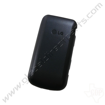 OEM LG LG 236C Battery Cover - Black