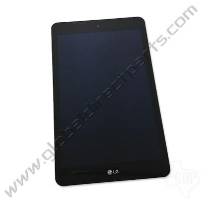 OEM LG G Pad F2 8.0 LK460 LCD & Digitizer Assembly with Front Housing - Black [ACQ90040401]