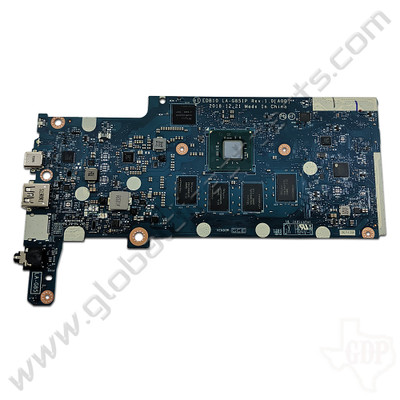 OEM Dell Chromebook 11 3100 Education Motherboard without Daughterboard Connectors [4GB/16GB] [0GD6HC]