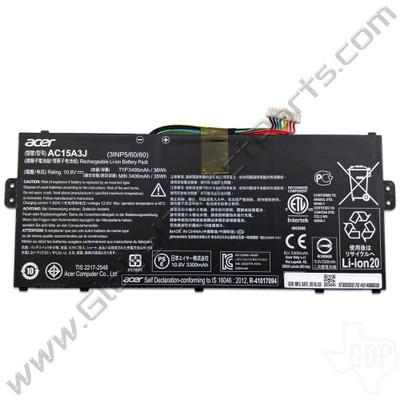 OEM Acer Chromebook 11 CB3-131, CB5-132T, C738T, Spin 11 CP311 Battery [3490mAh] [AC15A3J]