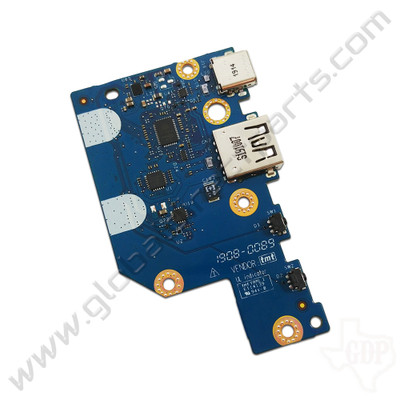 OEM Dell Chromebook 11 3100 Education Type-C USB PCB with Volume Keys [2-in-1]