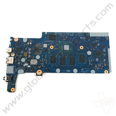 OEM Dell Chromebook 11 3100 Education Motherboard with Daughterboard Connectors [4GB/32GB] [0W1C7C]
