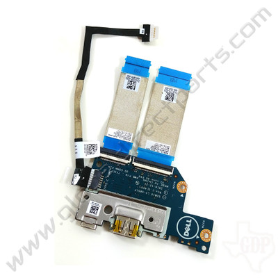 OEM Dell Chromebook 11 3100 Education Type-C USB PCB with Flexes