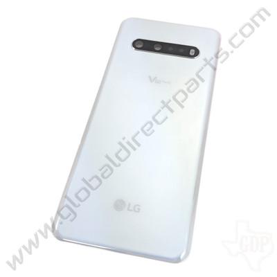 OEM LG V60 ThinQ 5G V600TMW Battery Cover Assembly - White [ACQ30154901]