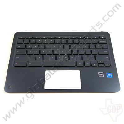 OEM HP Chromebook x360 11 G2 EE Keyboard with Camera Lens [C-Side]