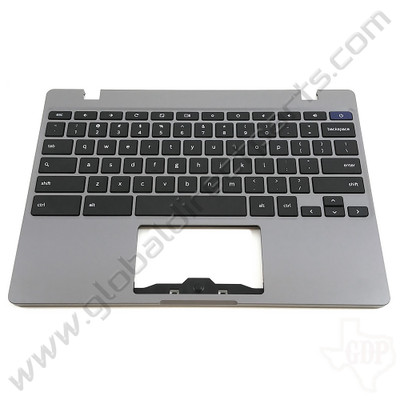 OEM Samsung Chromebook 4 XE310XBA Keyboard [C-Side] - Silver [BA98-01976A]