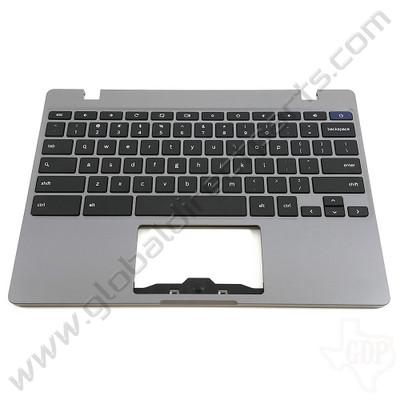 OEM Reclaimed Samsung Chromebook 4 XE310XBA Keyboard [C-Side] - Silver [BA98-01976A]