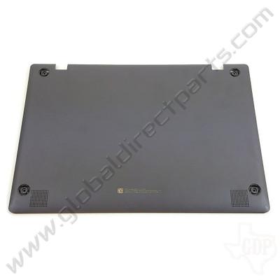 OEM Reclaimed Samsung Chromebook 4 XE310XBA Bottom Housing [D-Side] - Silver [BA98-01977A]