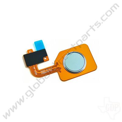 OEM LG Stylo 6 Fingerprint Sensor - White [EBD64387501]