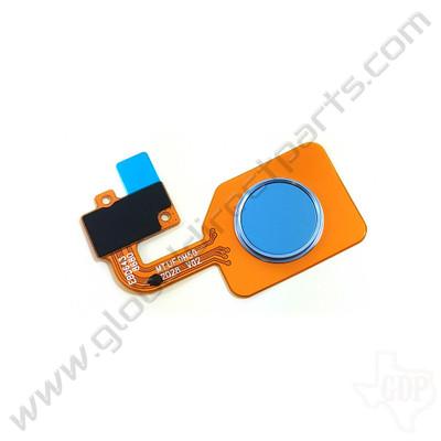 OEM LG Stylo 6 Q730AIO Fingerprint Sensor - Blue [EBD64386803]
