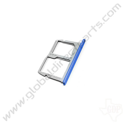OEM LG LM-K300 SIM Tray - Blue [MBL68661802]