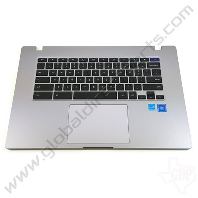 OEM Reclaimed Samsung Chromebook 4+ XE350XBA Keyboard with Touchpad [C-Side]