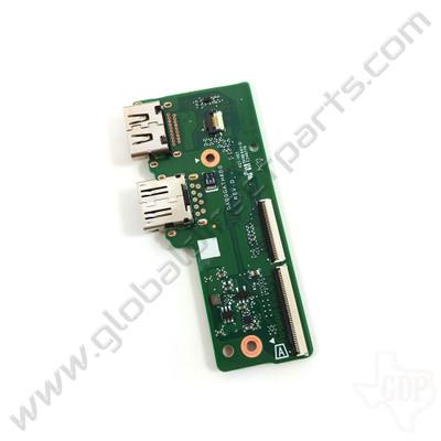 OEM HP Chromebook 14 G6 HDMI & USB PCB