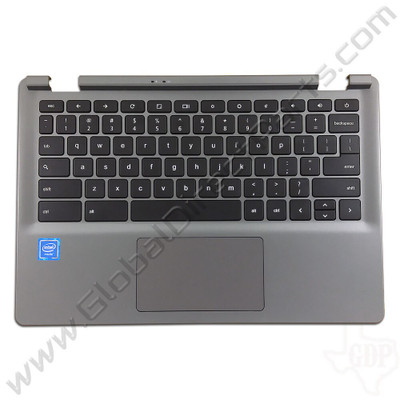 OEM Reclaimed Acer Chromebook C730 Keyboard with Touchpad [C-Side] - Black [EAZHQ008040]