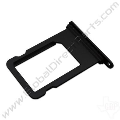 OEM Apple iPhone 7 SIM Card Tray - Glossy Black
