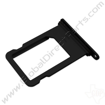OEM Apple iPhone 7 SIM Card Tray - Matte Black