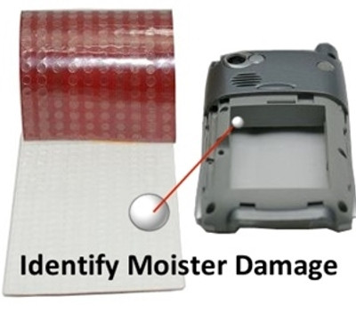 "Water Damage Detector Sticker-1/4"" [Roll of 200]"