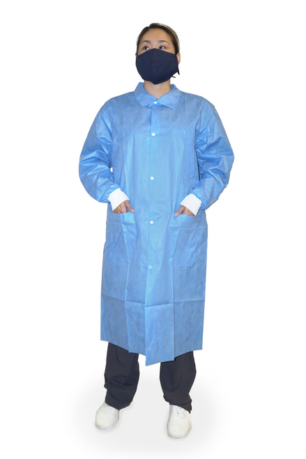 Premium Disposable Lab Coat