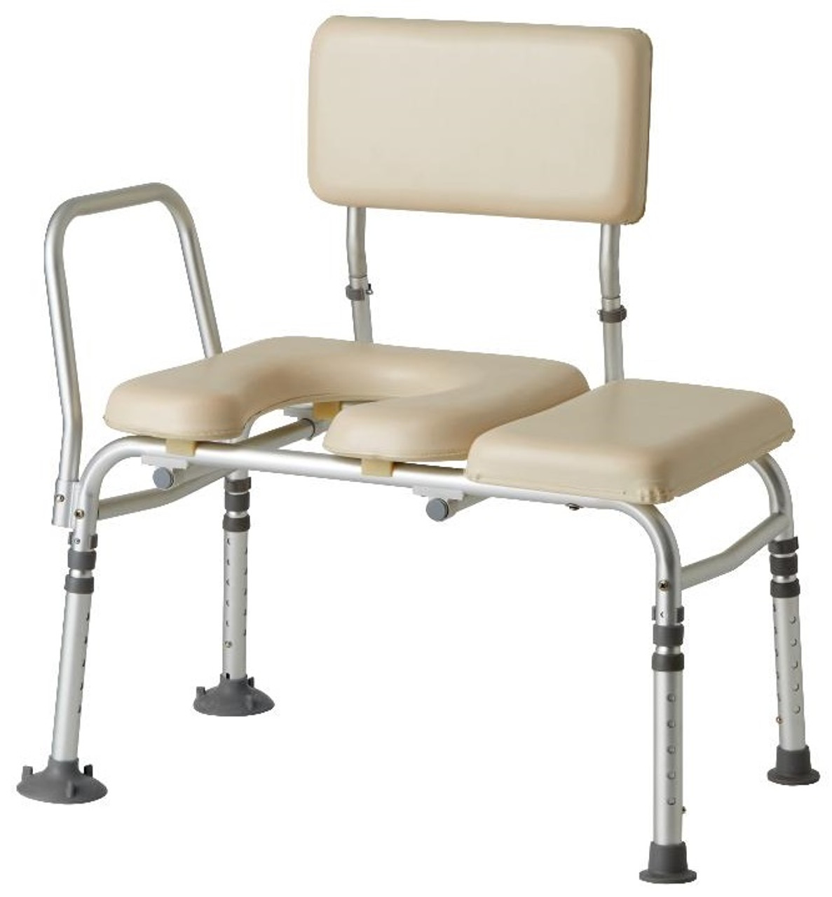 Pleasing Guardian Padded Transfer Bench With Cut Out 98013Kd Ibusinesslaw Wood Chair Design Ideas Ibusinesslaworg