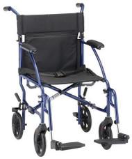 Lightweight Aluminum Transport Wheelchairs
