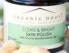 Clean & bright natural skin polish