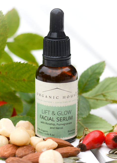 Facial oil serum