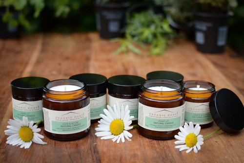 Organic House Natural Aromatherapy Candles