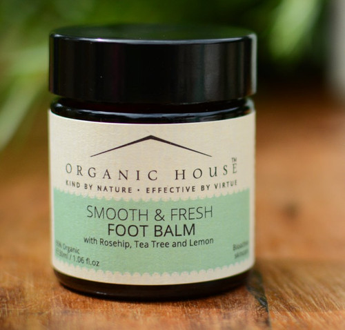 Organic House Smooth & Fresh Foot Balm