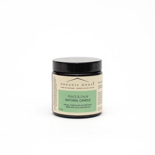 Peace and Calm aromatherapy candle