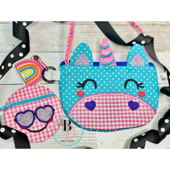 Unicorn Purse for Girls | Unicorn Purse | Girls Purse | Little Girl Purse | Easter Purse | Easter Unicorn Purse