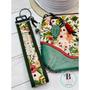 I Like the Wine Wristlet | Wristlet Wallet Clutch | Monogram Clutch | Key Fob Wristlet | Faux Leather Clutch