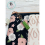 Farmhouse Wristlet for Women | Farmhouse Style Key Fob| Farmhouse Clutch Wallet | Wristlet with Key Fob