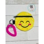 Emoji Zipper Pouch   Emoji Coin Purse   Small Coin Purse   Change Pouch with Zipper   Emoji Zippered Bag