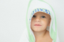 Personalized Hooded Newborn Towel | Personalized Oversized Infant Hooded Towel | Baby Shower Gift