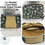 Lanyard With Photo ID Holder  Gift Set | Wristlet Zipper Pouch | ID Zipper Pouch | Key Fob Wristlet | Gift Set |