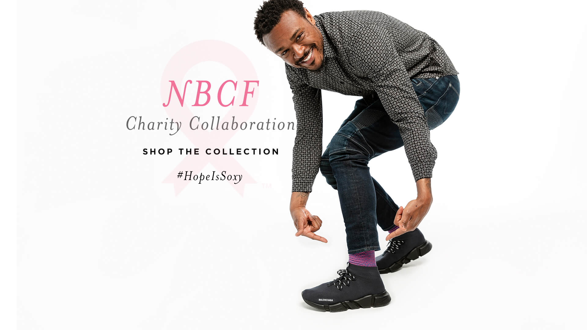 Brandon Carr of the Baltimore Ravens in the National Breast Cancer Socks made by DeadSoxy.